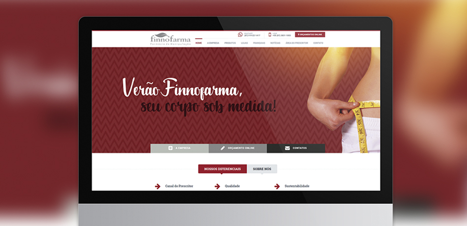 Website Finnofarma